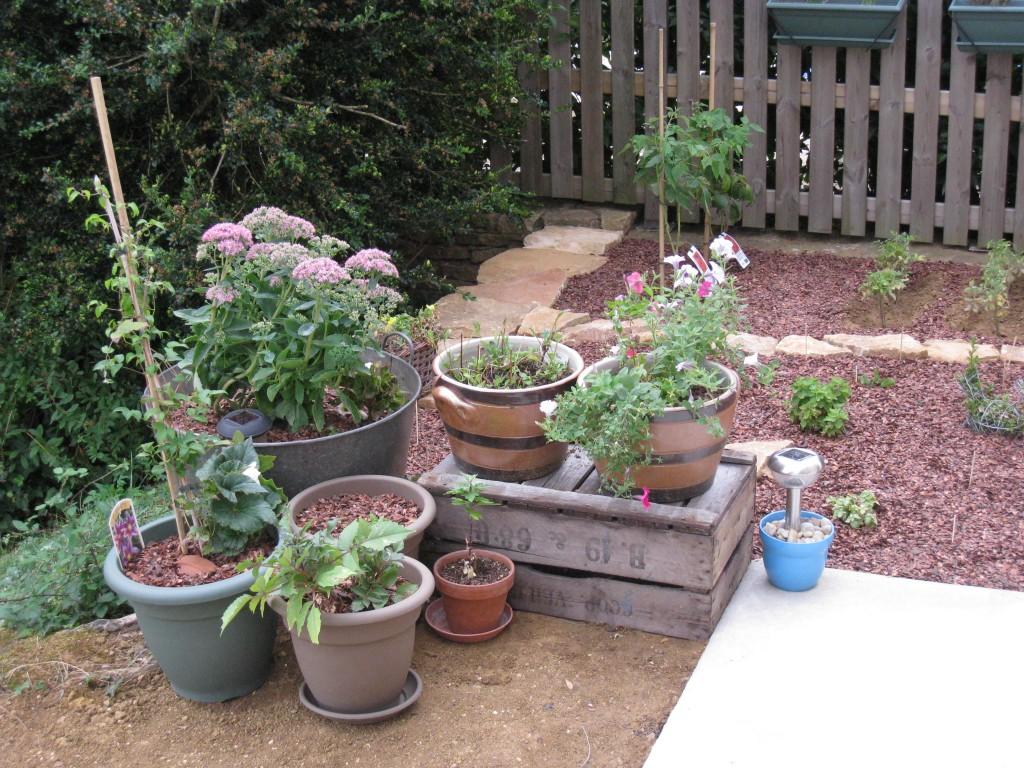 Coin terrasse du jardin
