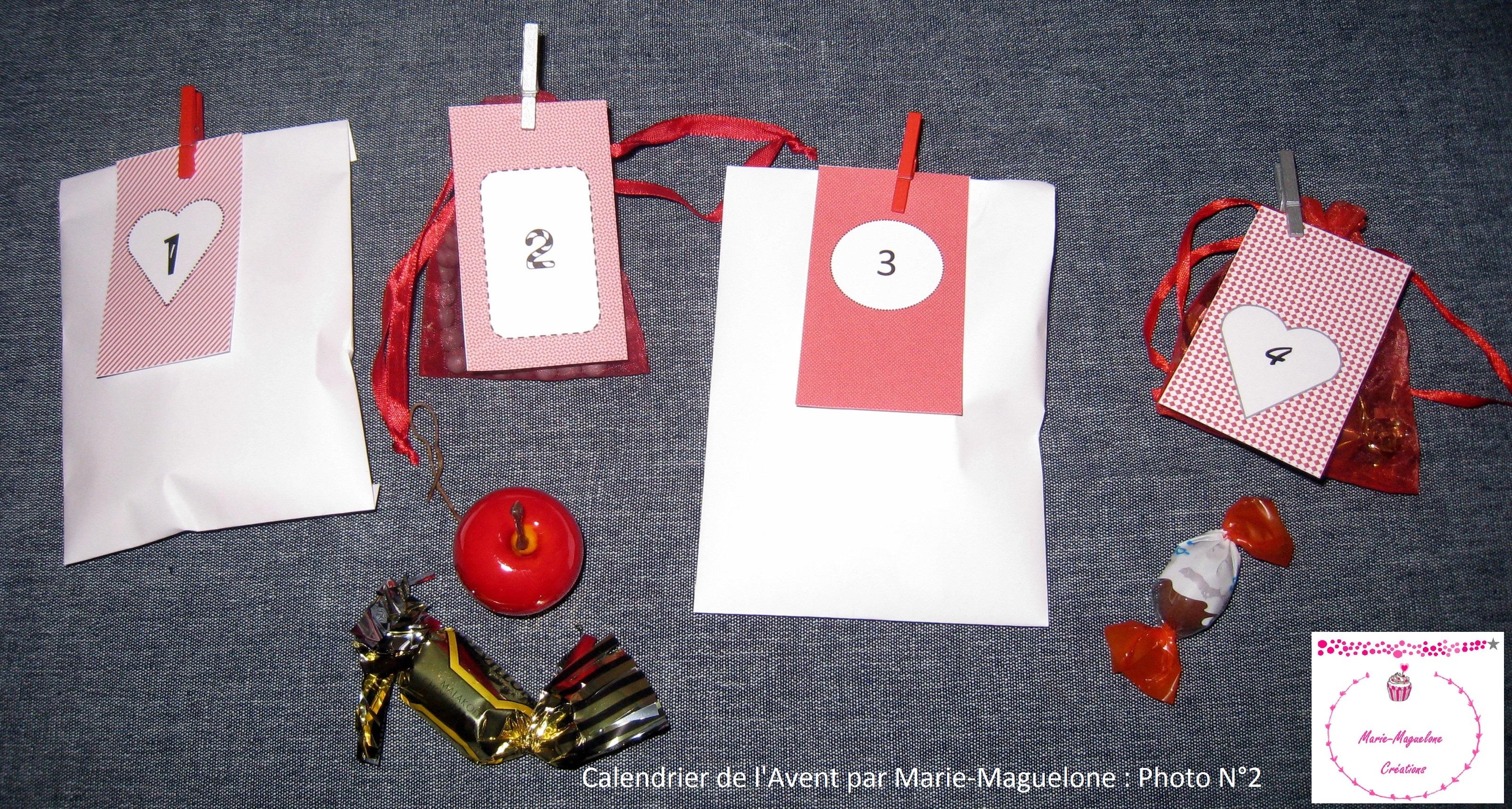 pr parons no l 2015 2 id es pour le calendrier de l 39 avent marie maguelone. Black Bedroom Furniture Sets. Home Design Ideas