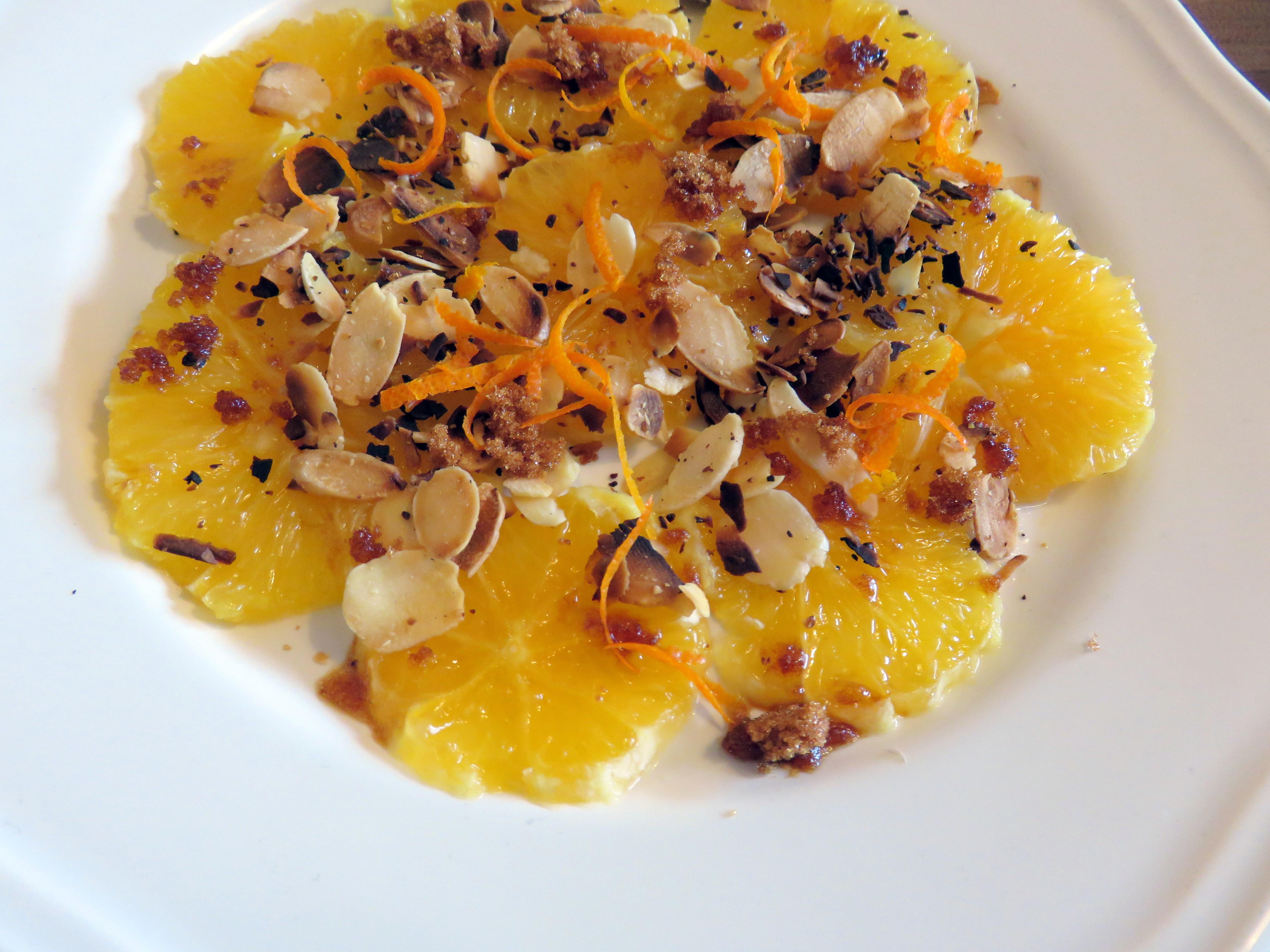 Envie de vitalité ? Oranges et amandes !