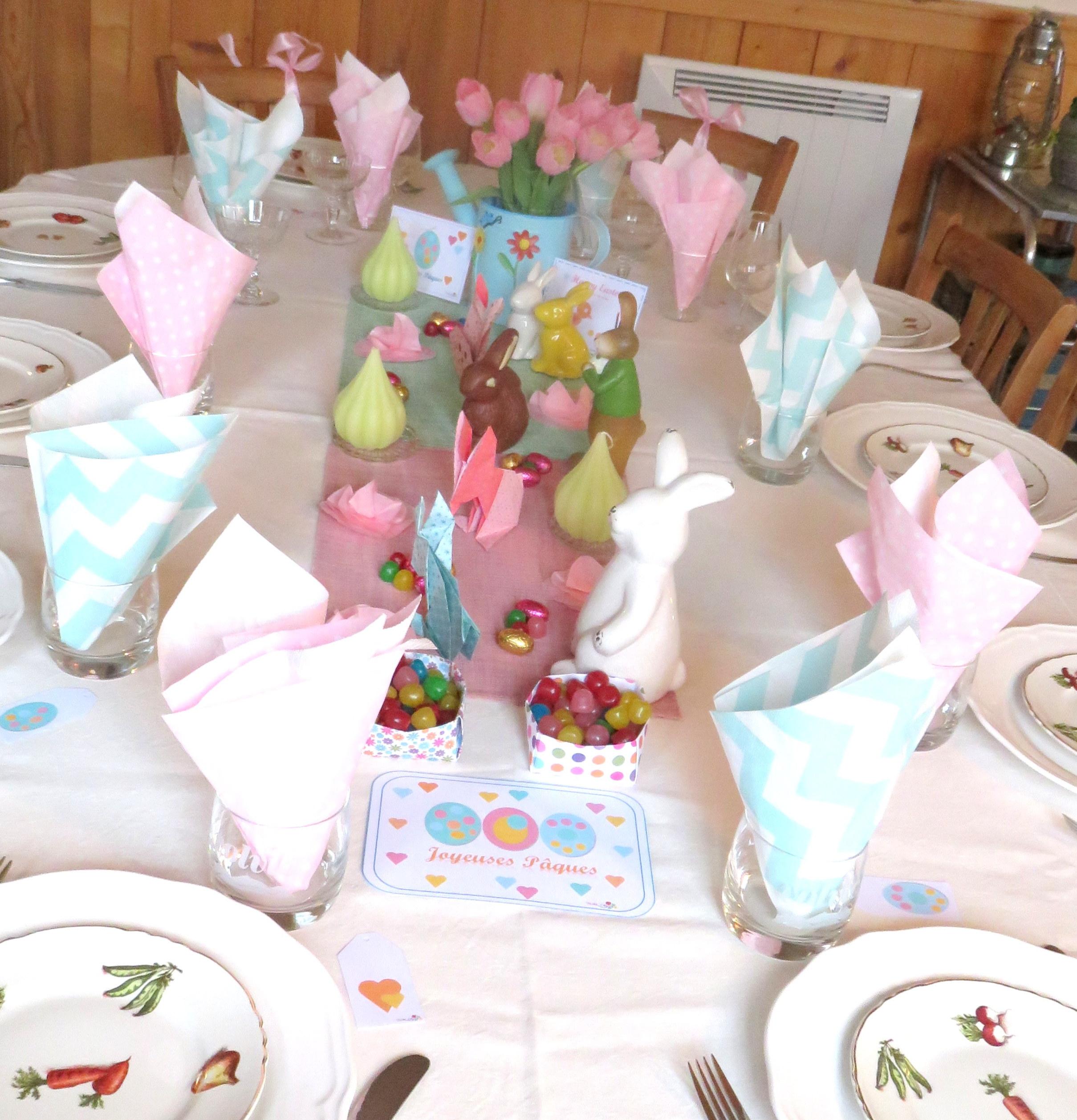 Table pour Pâques ! Partie 4