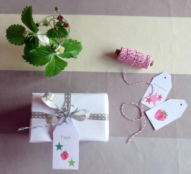 Paquet cadeau personnalisé