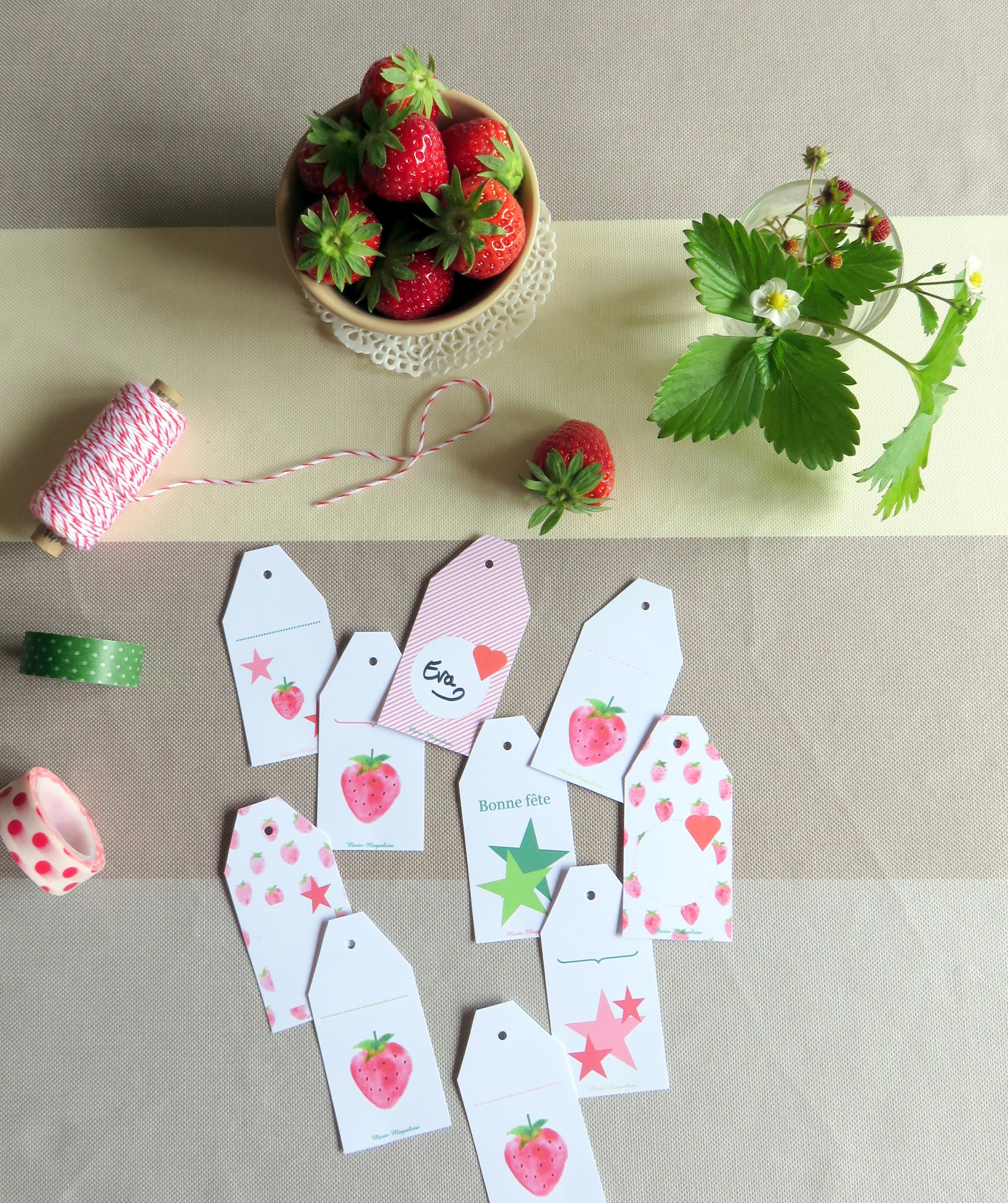 Qui veut des fraises ? !