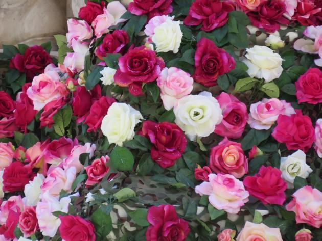 Fontaine aus roses