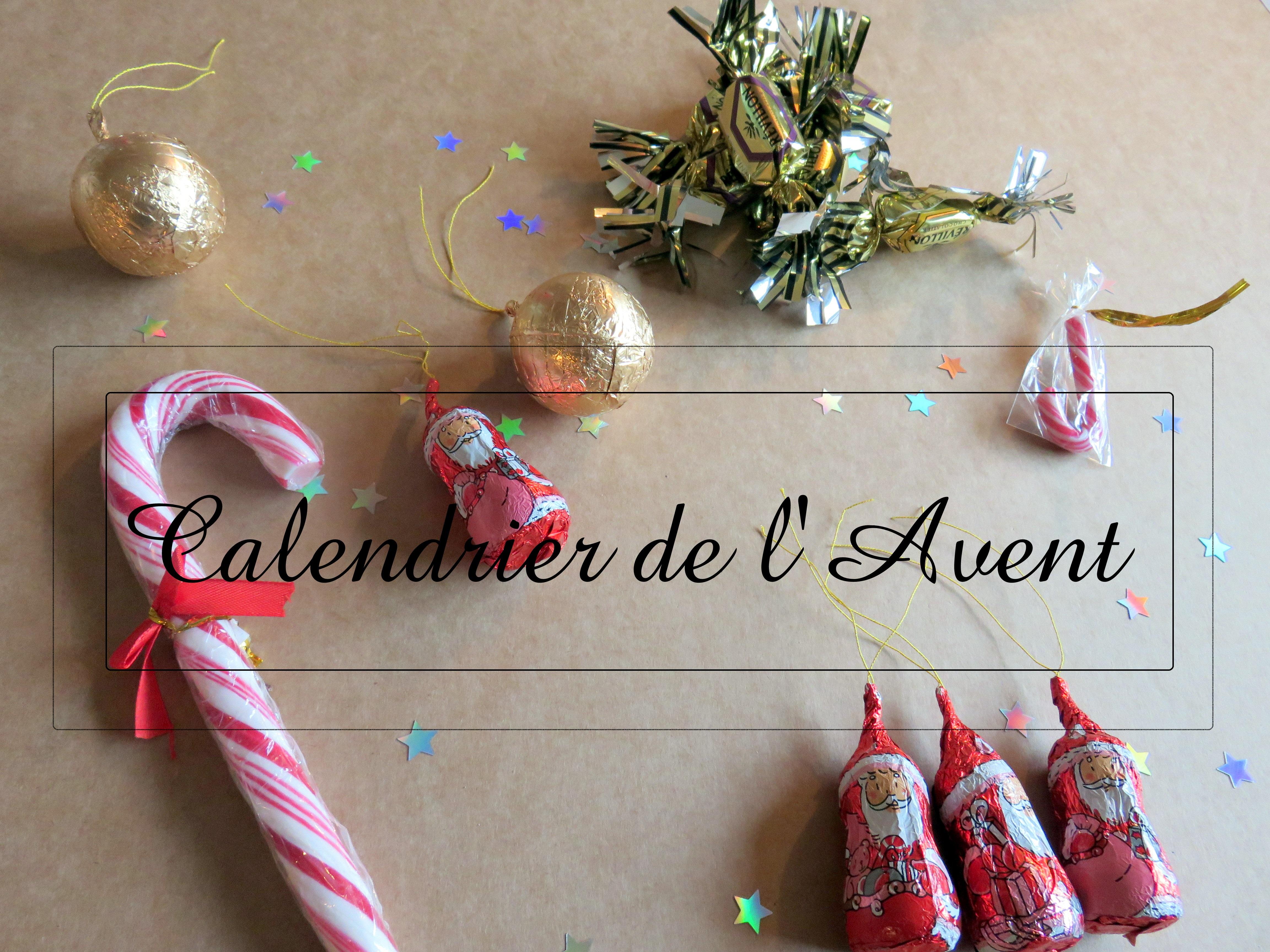 Préparons Noël 2015 # 3 : le calendrier de l'Avent pour mes enfants !