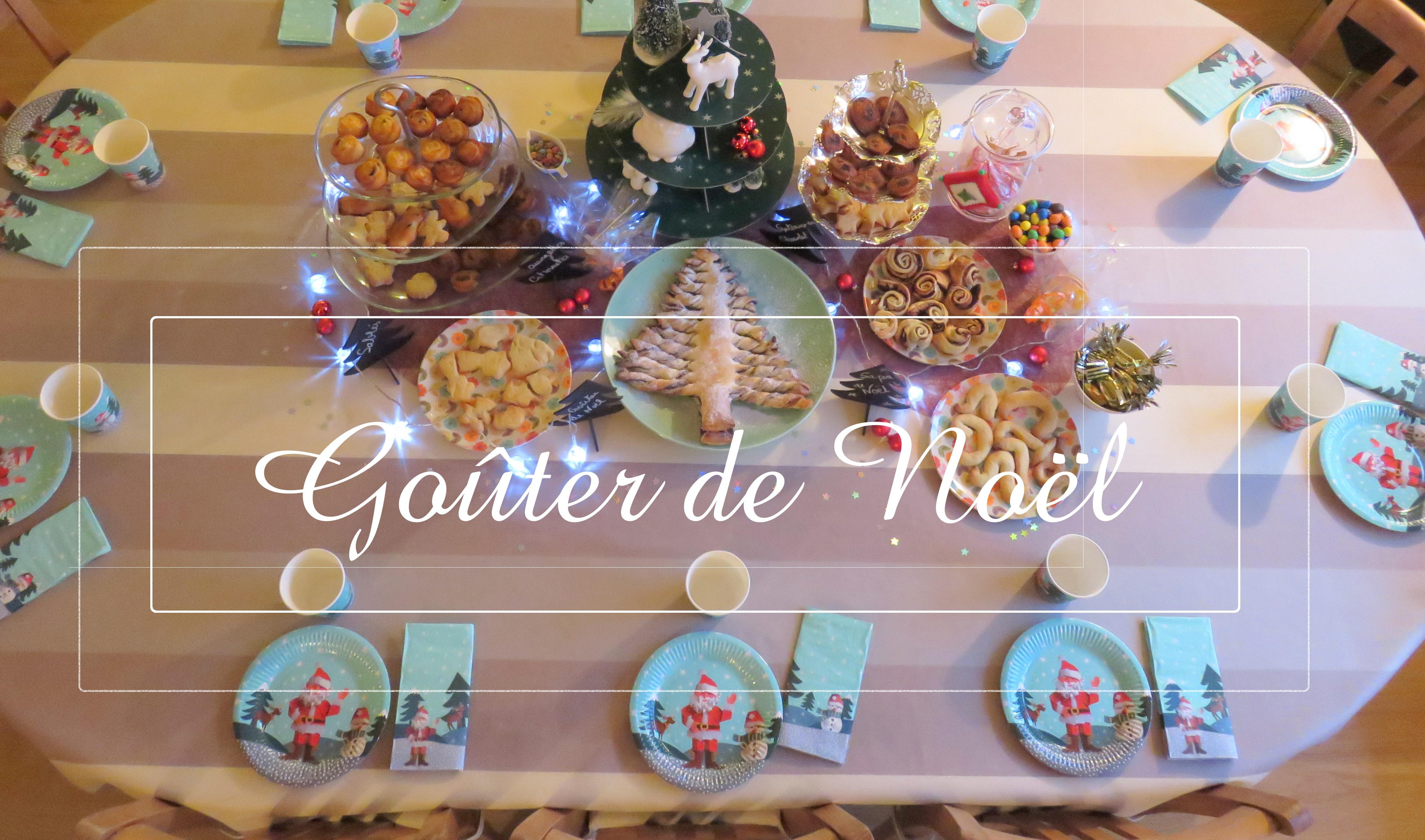Comment organiser un beau et très bon goûter de Noël !