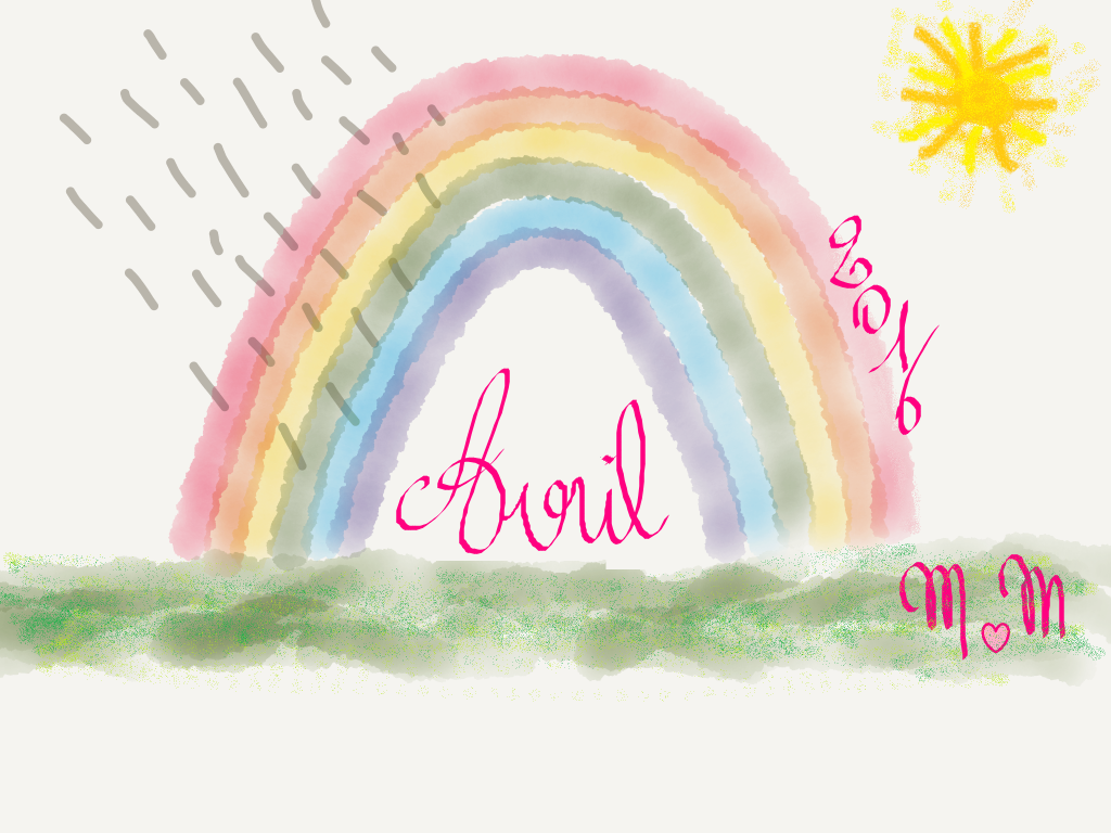 Arc en ciel d'avril 2016