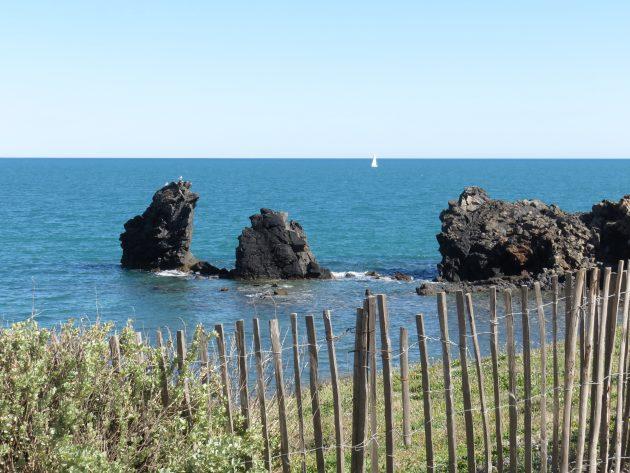 La mer, le ciel bleu... Cap d'Agde