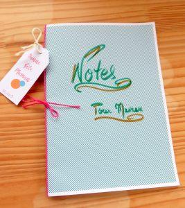 Carnet de Notes Fête des mères