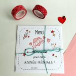 Carte coeur merci maitresse