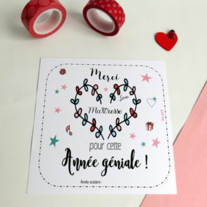 Carte merci mâitresse