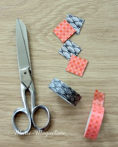 Aimants en masking tape