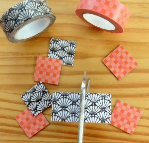 Atelier créatif masking tape