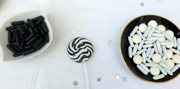 Bonbons noir et blanc Star Wars