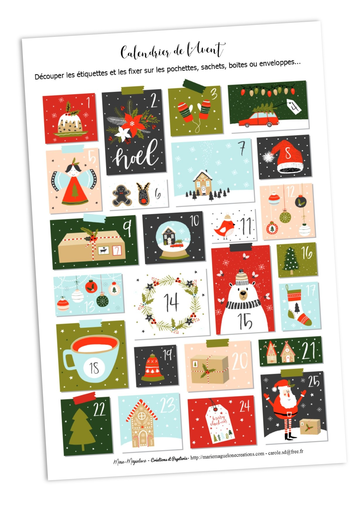 Christmas Printables DIY #2
