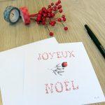 Carte Joyeux Noël Marie-Maguelone