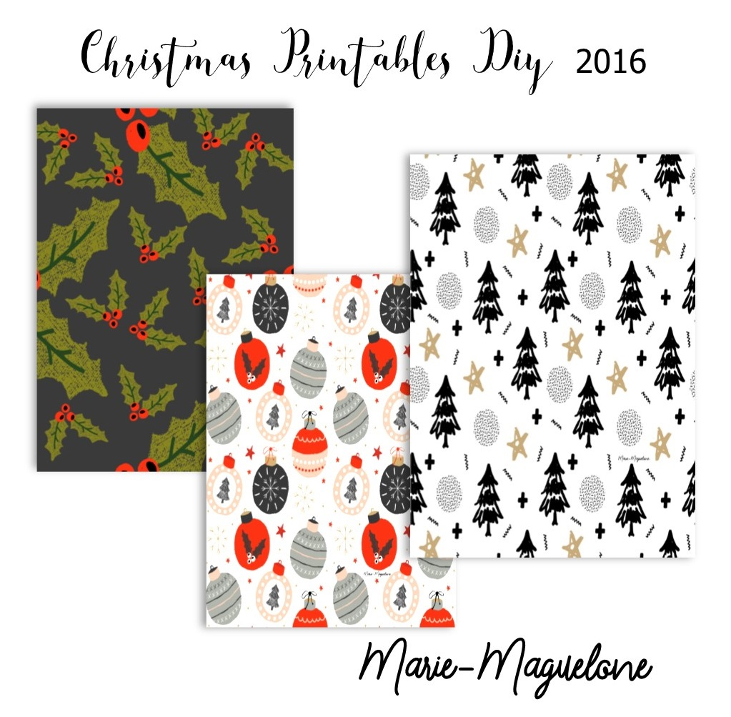 Christmas Printables DIY # 3