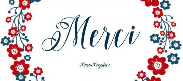 Merci par Marie-Maguelone