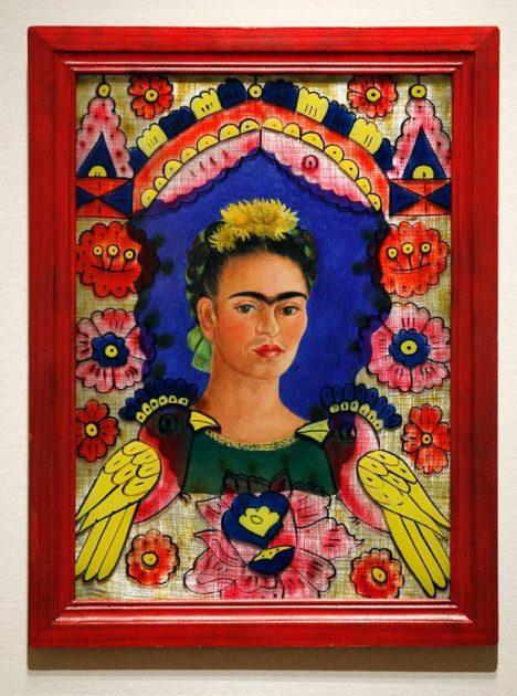 Auto portait 1938 F. Kahlo