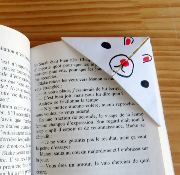 Bookmark Kawai par Marie-Maguelone