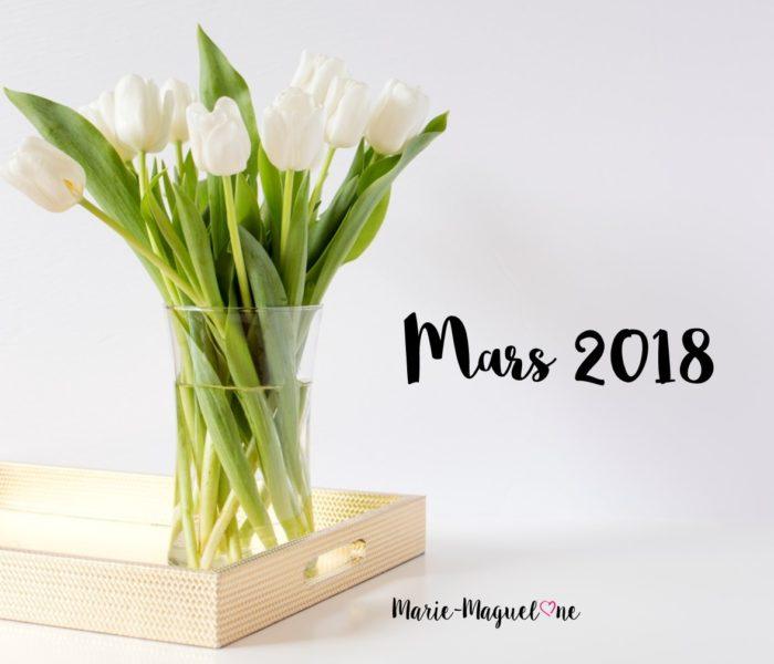 Mars 2018 !