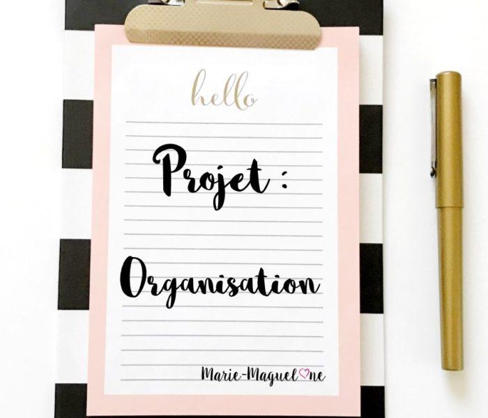 Organisation !!