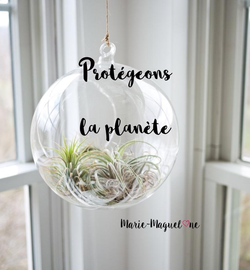 Protégeons notre planète !