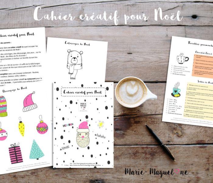 Carnet créatif pour les kids !