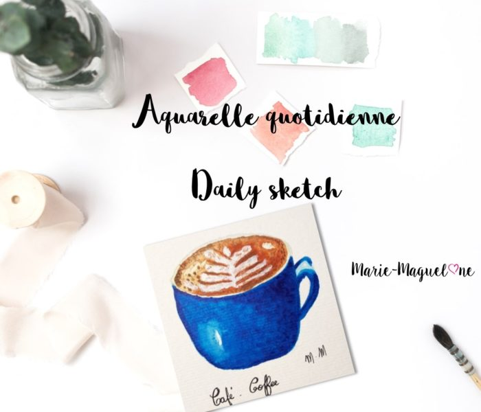 Aquarelle quotidienne