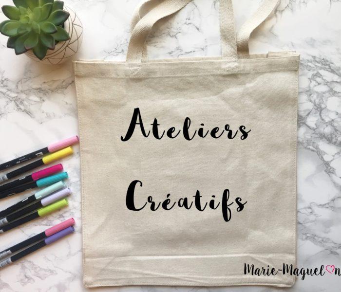 Ateliers créatifs !