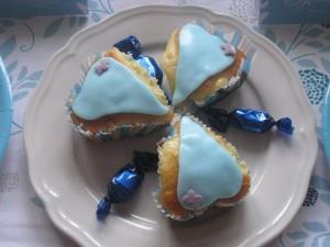 Cakes bleus