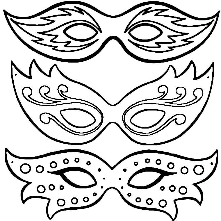 Masque ou pas masque marie maguelone - Dessins carnaval ...