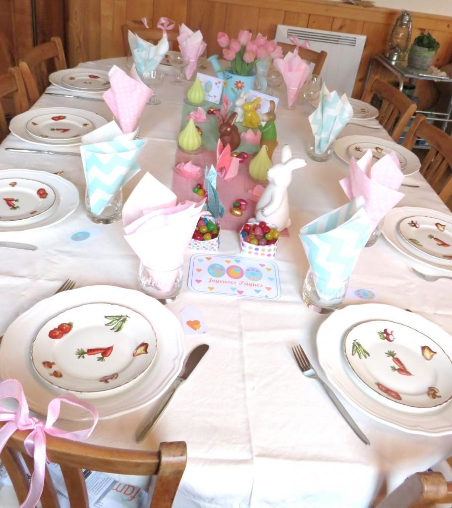 Jolie table pour Pâques