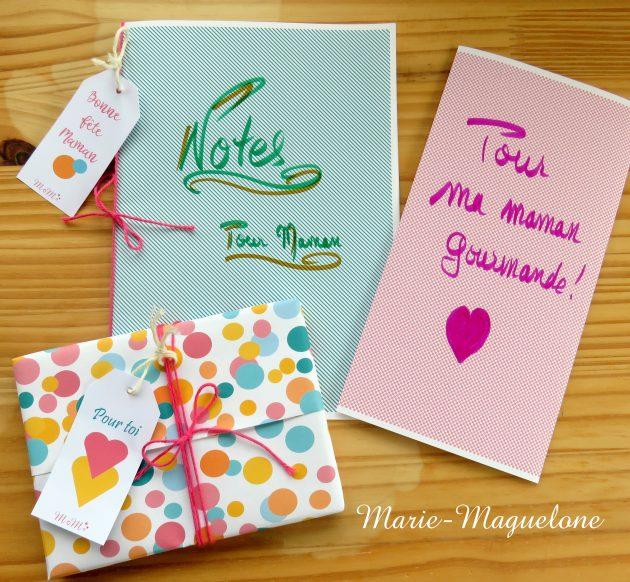 Cadeaux fête des mères par Marie-Maguelone