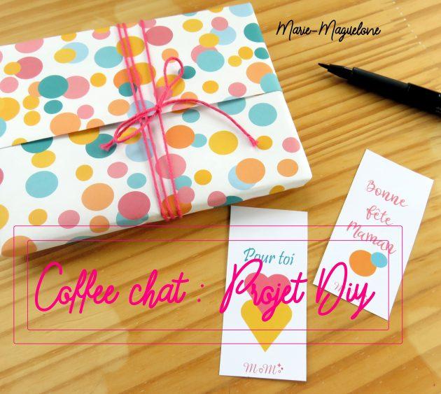 Coffee chat projet DIY