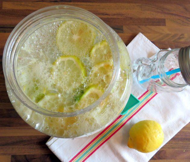 Limonade homemade !