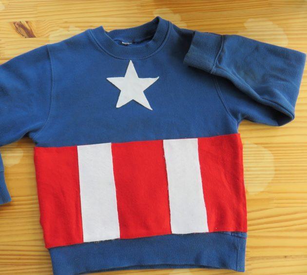 Captain América : sweat