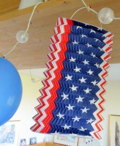 Lampion USA Party