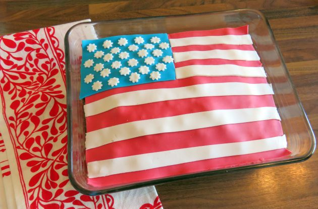 Gâteau USA Party