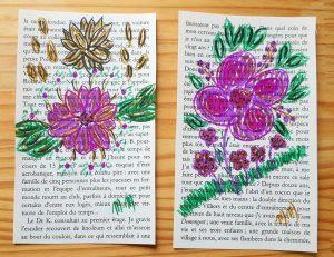 Fleurs dessinées