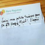 Petit mot pour le Happy Mail