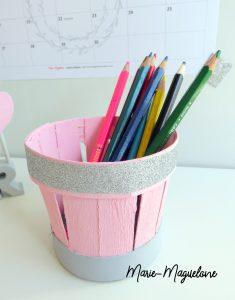 Diy : pot à crayons