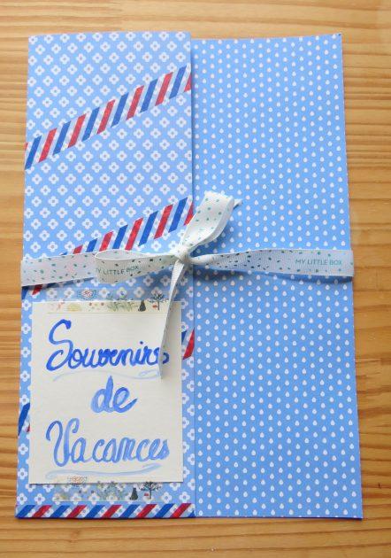 Happy Mail pochette bleue