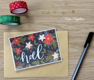 Happy Mail de Noël par Marie-Maguelone