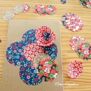 Découpes et fleurs de papier