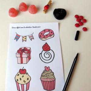 Bonus calendrier 2017 Sweet par Marie-Maguelone