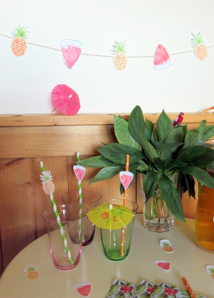 diy so fresh past que et ananas pour de belles tables d 39 t. Black Bedroom Furniture Sets. Home Design Ideas